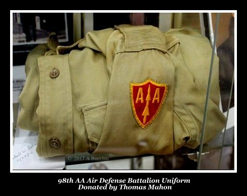 98th AA Air Defense Battalion @ Nutley Museum, Nutley NJ