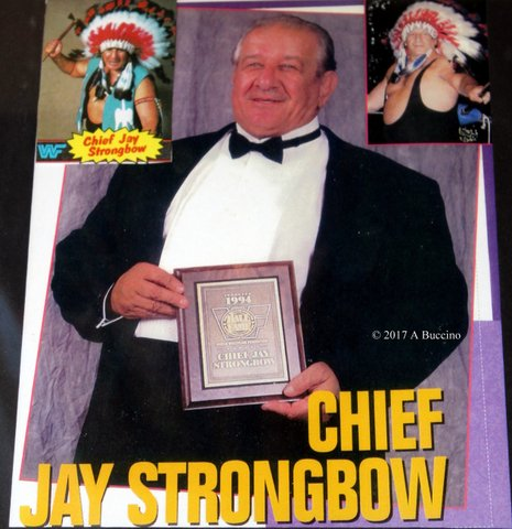 Chief Jay Strongbow - Photo courtesy of Anthony Buccino © 2017 all rights reserved