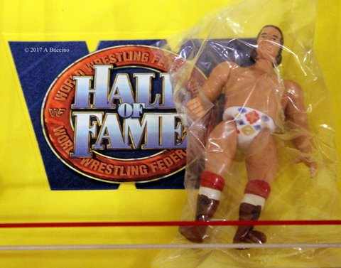 Hall of Fame Action figure Chief Jay Strongbow - Photo courtesy of Anthony Buccino © 2017 all rights reserved